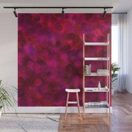 Purple Grape, Dragon Fruit, & Berry Dots Wall Mural