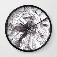 jasmine Wall Clocks featuring Jasmine by DESINK