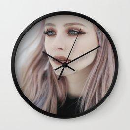Wintry Wall Clock