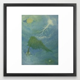 The Search Framed Art Print