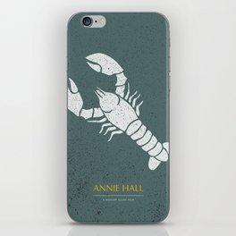 Annie Hall - Alternative Movie Poster iPhone Skin