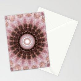 Mandala gentle blush Stationery Cards