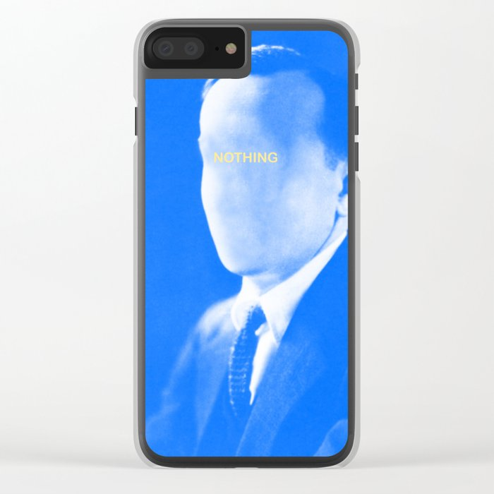 Nothing in mind Clear iPhone Case