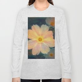 White flower kosmeya Long Sleeve T-shirt
