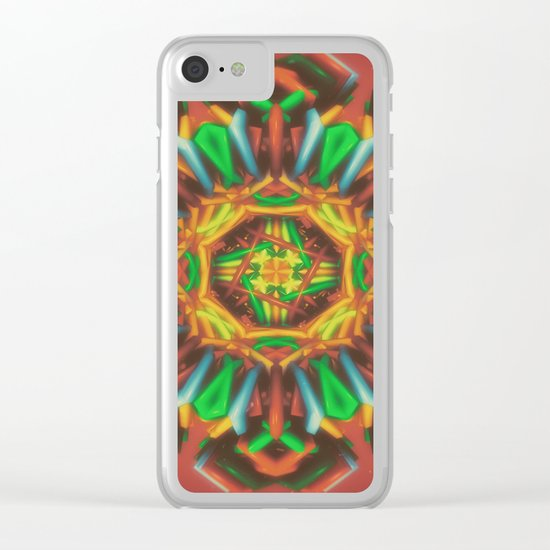 Trickortreatin Clear iPhone Case