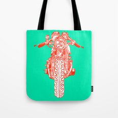 Cafe Racer front view Tote Bag
