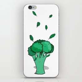 Funky Broccoli iPhone Skin