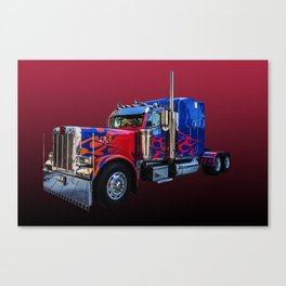American Truck Red Canvas Print