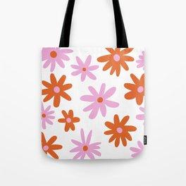 Bright Floral Tote Bag