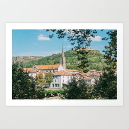 Saint-Antonin-Noble-Val Art Print