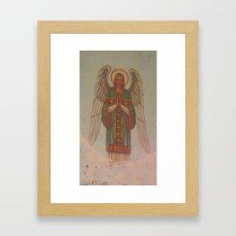 Angel of the 'burgh Framed Art Print