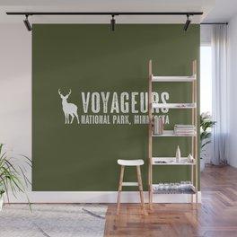 Deer: Voyageurs, Minnesota Wall Mural