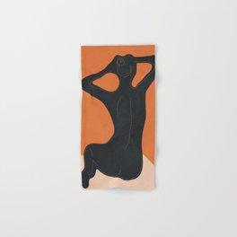 Abstract Nude I Hand & Bath Towel