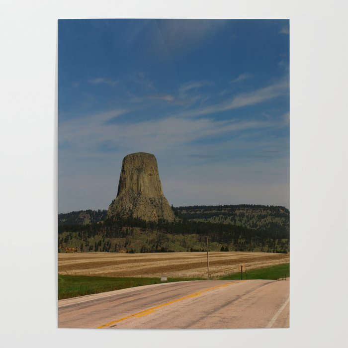 Road To Devils Tower Poster