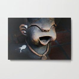 Statue in Chiang Ma Metal Print