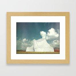 Prairieberg Framed Art Print