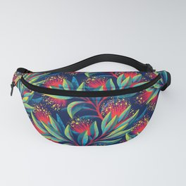 Pohutukawa - Red / Green Fanny Pack