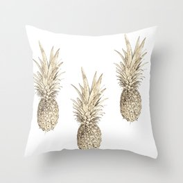I thought its not real Throw Pillow
