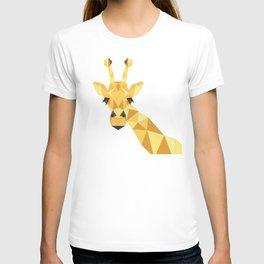 a giraffe T-shirt