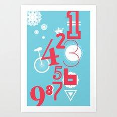 123... Art Print