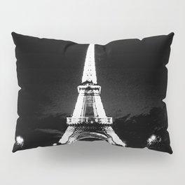 Paris Black & White Pillow Sham