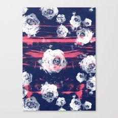 Roses & Skulls Canvas Print