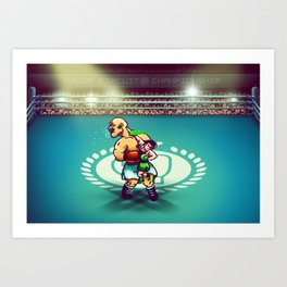 Punch-Out!! Art Print