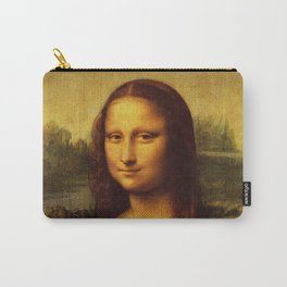Leonardo Da Vinci Mona Lisa Painting Carry-All Pouch