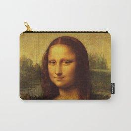 Leonardo Da Vinci Mona Lisa Painting Carry-All Pouch