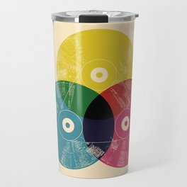 Music is the colors of life Travel Mug