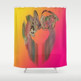 Floral Ring Shower Curtain