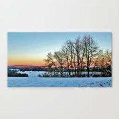 Colorful Winter Canvas Print