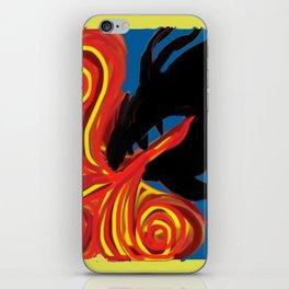 Dragon Fire iPhone Skin