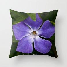 Purple Pinwheel Throw Pillow