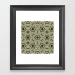 Fractal Cogs n Wheels in CMR02 Framed Art Print