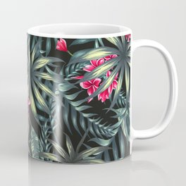 Tropical leave pattern 9.2 Coffee Mug