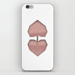 It is too heart iPhone Skin
