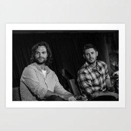 Jared and Jensen   DC con 2014 Art Print