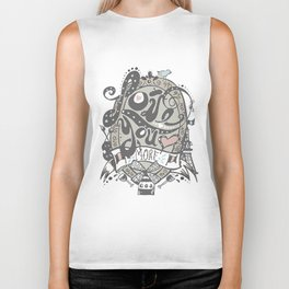 Love You More Biker Tank