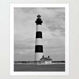 Bodie Island Lighthouse Outer Banks Art Print