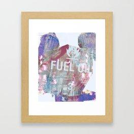 commotion Framed Art Print