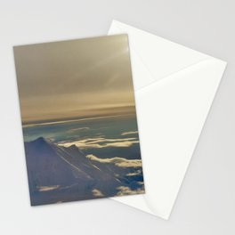 At the Top of Denali Stationery Cards