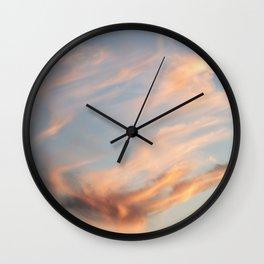 Fiery Sky Wall Clock