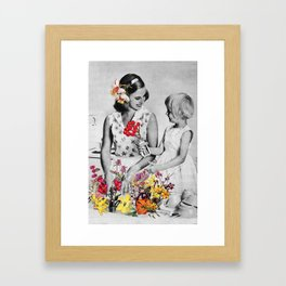 Plantae Wash Out Framed Art Print