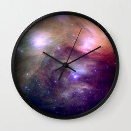 Galaxy : Pleiades Star Cluster NeBula Wall Clock