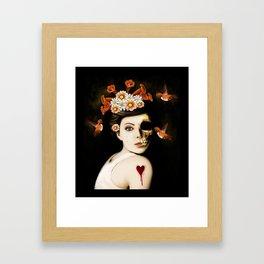 Empty Framed Art Print