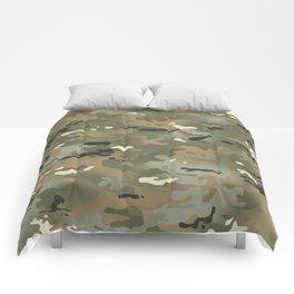 Camouflage: Jungle Colors III Comforters
