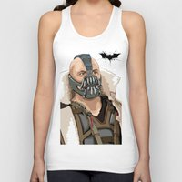 bane Tank Tops featuring Bane by Thomas Moore
