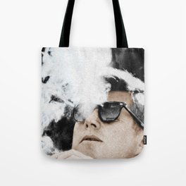 JFK Cigar and Sunglasses Cool President Tote Bag