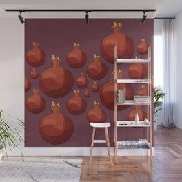 Pomegranate - Pallete I Wall Mural